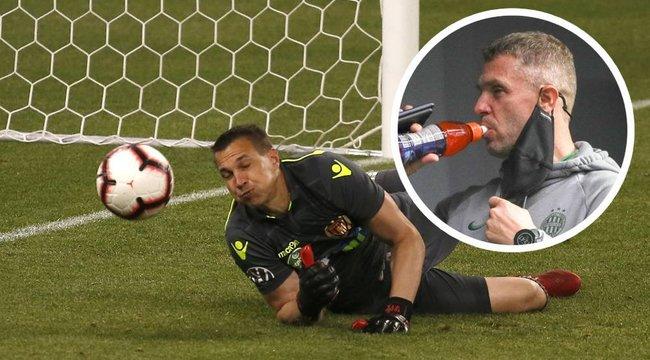 Rebrov: Nehéz a Honvédnak gólt lőni