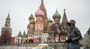 Negatív csúcsokat döntöget a koronavírus Oroszországban