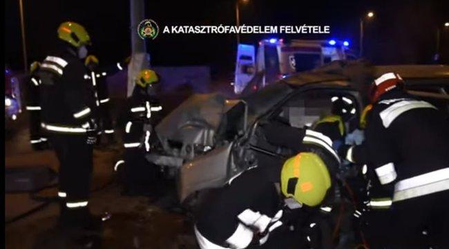 Megható: öccse megmentőit keresi a Szentendrei úti baleset túlélőjének testvére