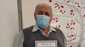 Százötvenszer mentett életet a magyar férfi: a vérében van a segítség Lászlónak, aki a járvány alatt sem képes megállni