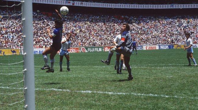 Végre kiderült az igazság Maradona 1986-os vb-góljáról!