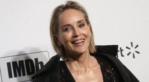 Hatalmasat terpesztett a 62 éves Sharon Stone