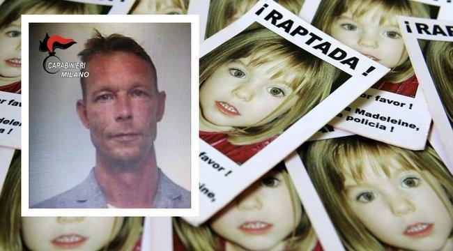 Áttörés! Konkrét bizonyítéka vanMadeleine McCann feltételezett gyilkosa ellen a német nyomozóknak