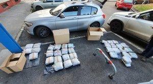 87 millió forint értékű drogot fogtak el Budapesten