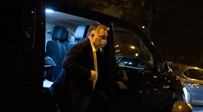 Orbán Viktor az Operatív Törzs ülésén - fotók