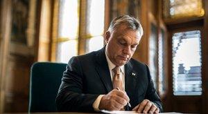 Orbán Viktor levele Manfred Webernek