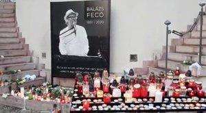Így búcsúztatják a rajongói Balázs Fecót