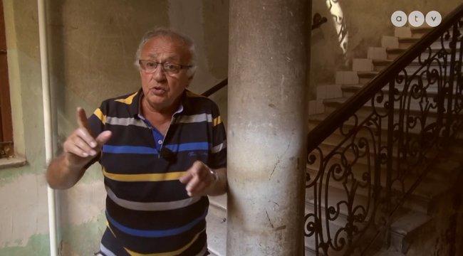 77 éve őrzi Sas kéznyomát a pesti bérház
