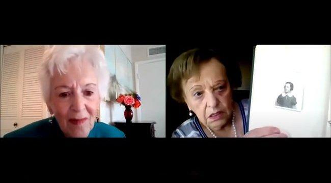 Könnyfakasztó: Mindketten azt hitték a másikról, hogy halott, 82 év után találkozott újra a két barátnő – videó
