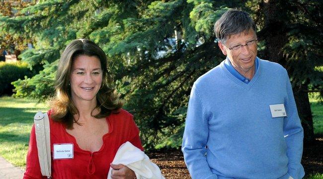 Nem sikerült megmenteni házasságukat: 27 év után válikBill Gates