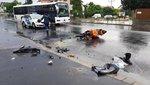 Megrázó képeket kaptunk a budapesti motoros balesetről