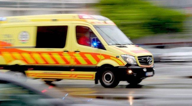 Mentősök és tűzoltók vonultak ki Kőszegre, súlyos baleset történt