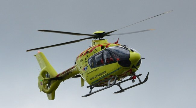 Mentőhelikoptert riasztottak: brutális baleset történtPerekednél