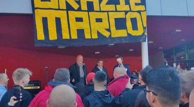 Marco Rossi hazatért, fociultrákkal bulizott a szövetségi kapitány