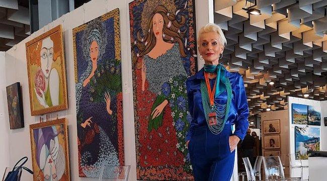 Hihetetlen sikert ért el egy magyar festőnő Firenzében