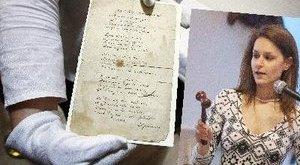Rejtélyes telefonáló vette meg a Petőfi-kéziratot