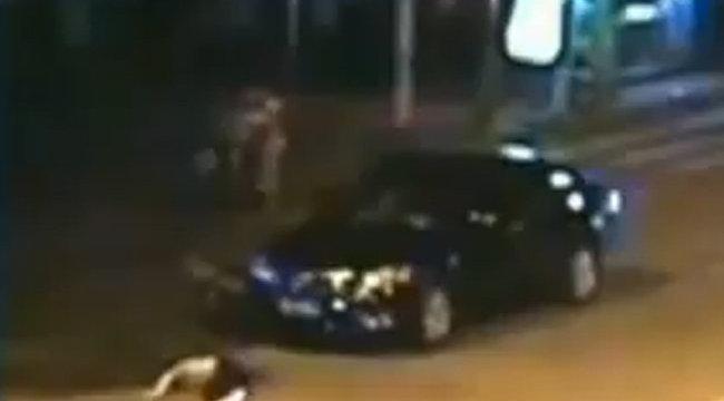 Sokkoló eseményt rögzített a térfigyelő kamera - megrázó videó