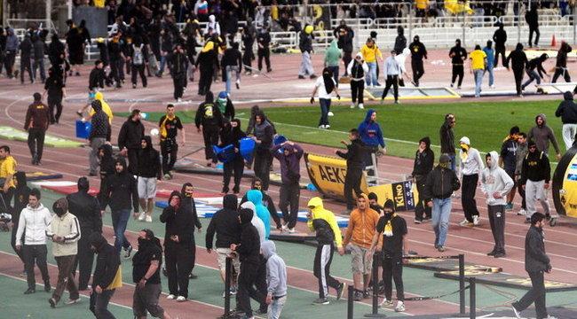 Kieséssel bűnhődik a verekedés miatt az AEK