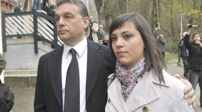 Apja miatt nem beszél a lagziról Orbán Ráhel
