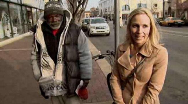 Becsületes volt a hajléktalan, ezért milliomossá vált