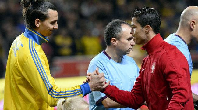 Elhomályosította Ibrát Ronaldo show-ja