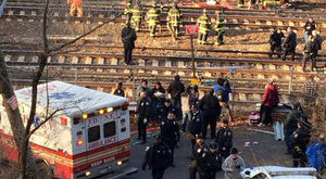 Négyen meghaltak a súlyos vonatbalesetben