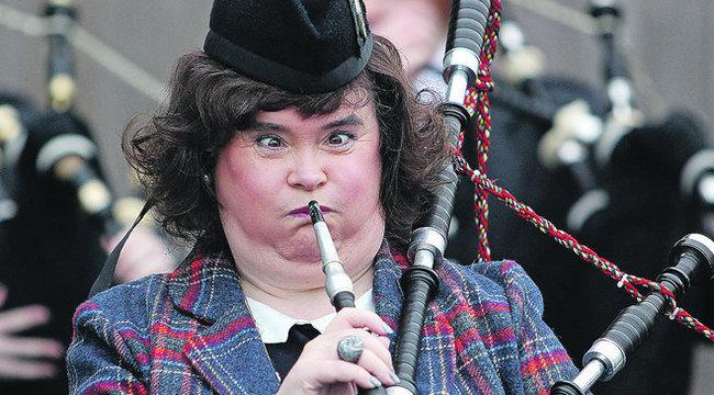 Susan Boyle bandzsa lett a dudálástól