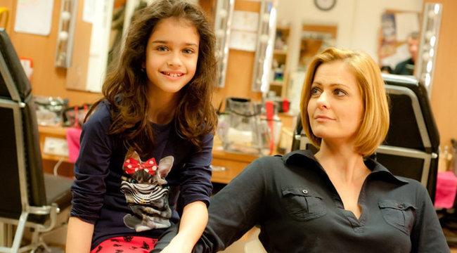 Jóban Rosszban: Fábián Anita a lányával forgat