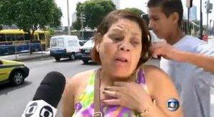 Nyilatkozás közben raboltak ki egy nőt