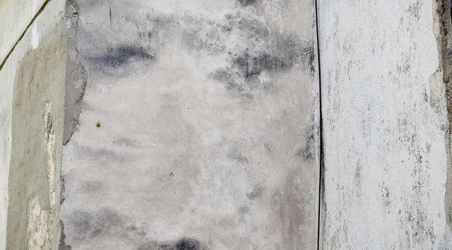 Kirajzolódott Szent István arca a templom falán