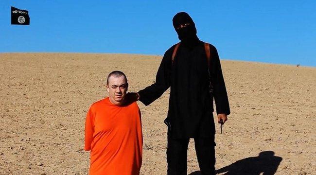 Iszlám Állam: újabb brit túszt fejeztek le