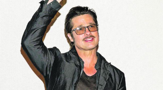 Durván álazta Brad Pittet a komikus