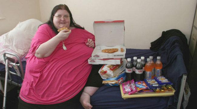 Hűtője ölte meg a világ egyik legkövérebb nőjét