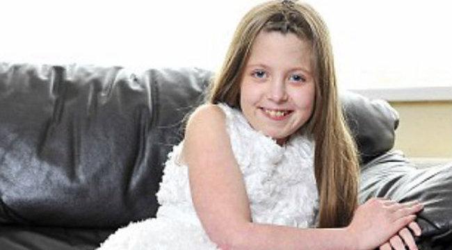Végzetes öregkori betegség gyilkolja a kislányt