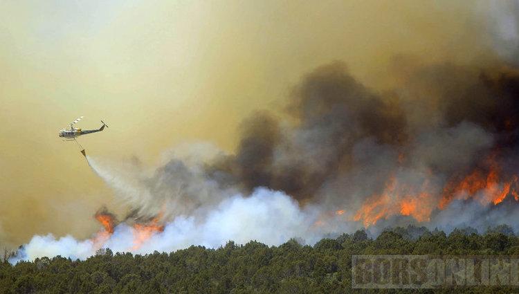 Tűzvész tombol Colorado államban