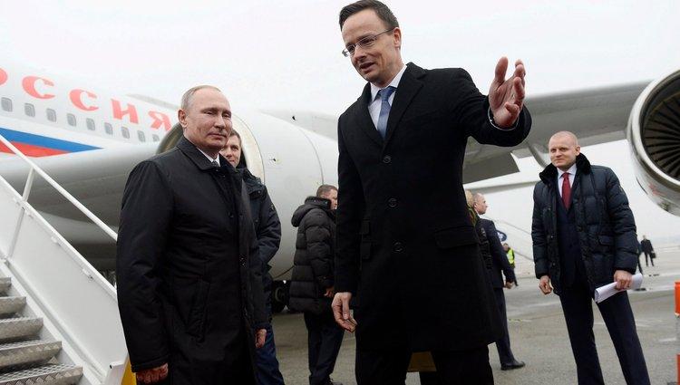 Putyin Budapesten