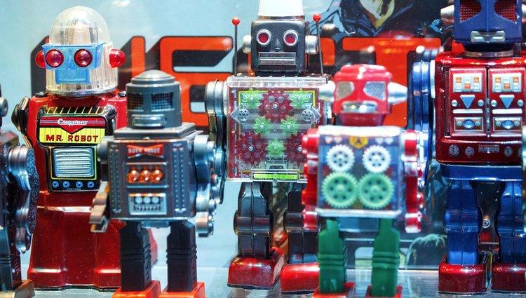 Robotkiállítás Londonban