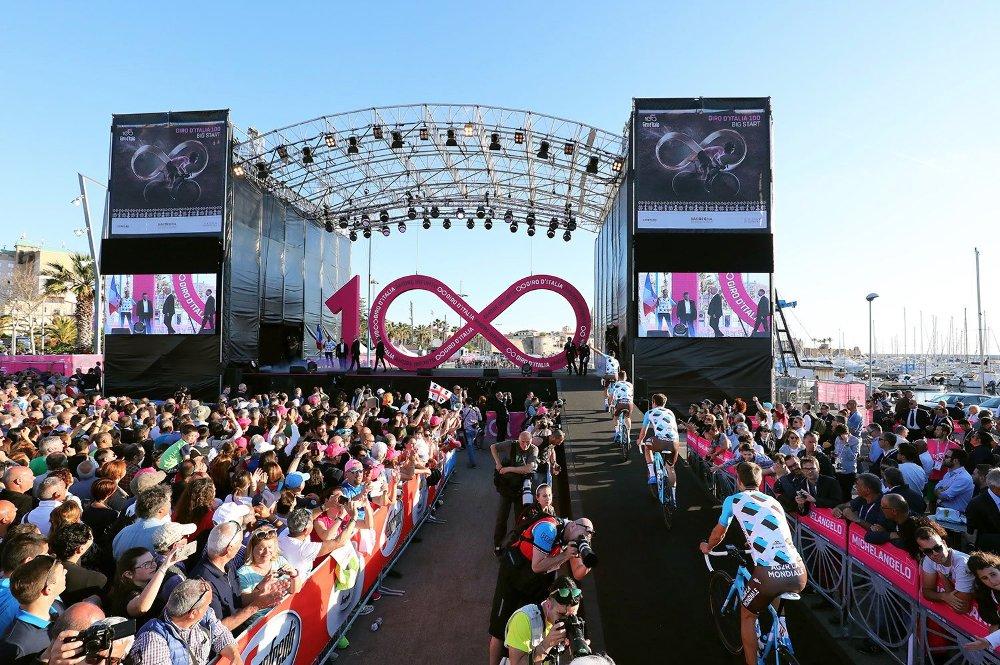 Elrajtolt a századik Giro d'Italia