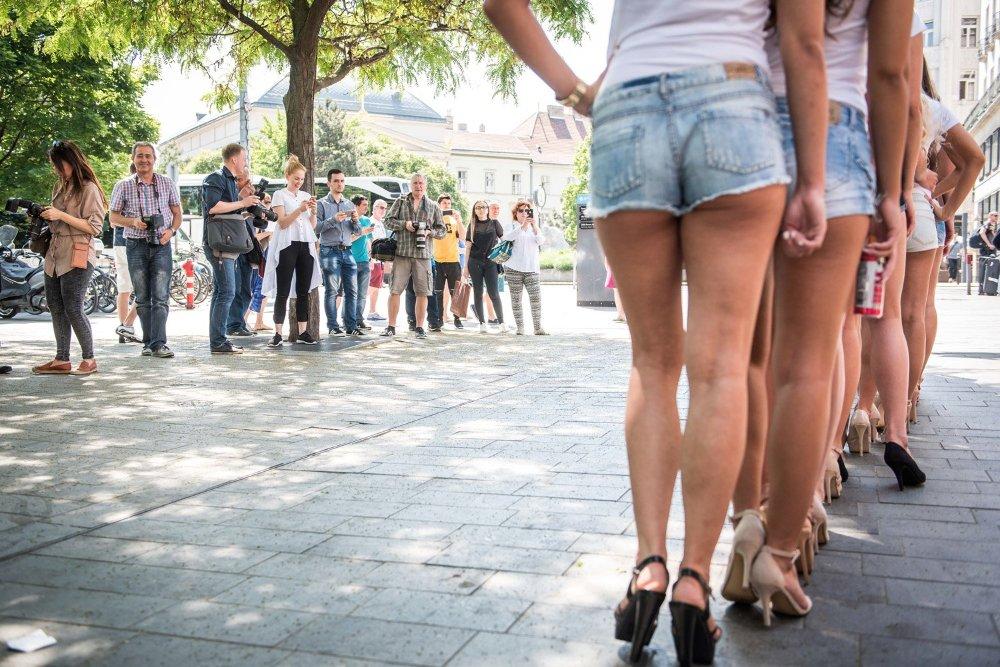 Így kasztingolják Magyarország szépét