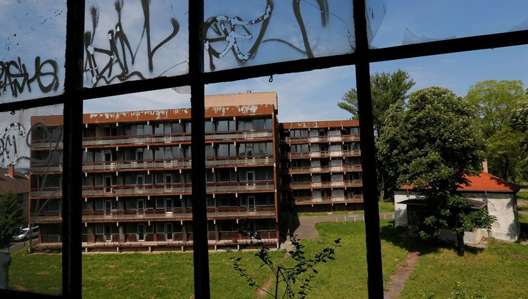 Elhagyott szovjet katonai kórház Budapesten