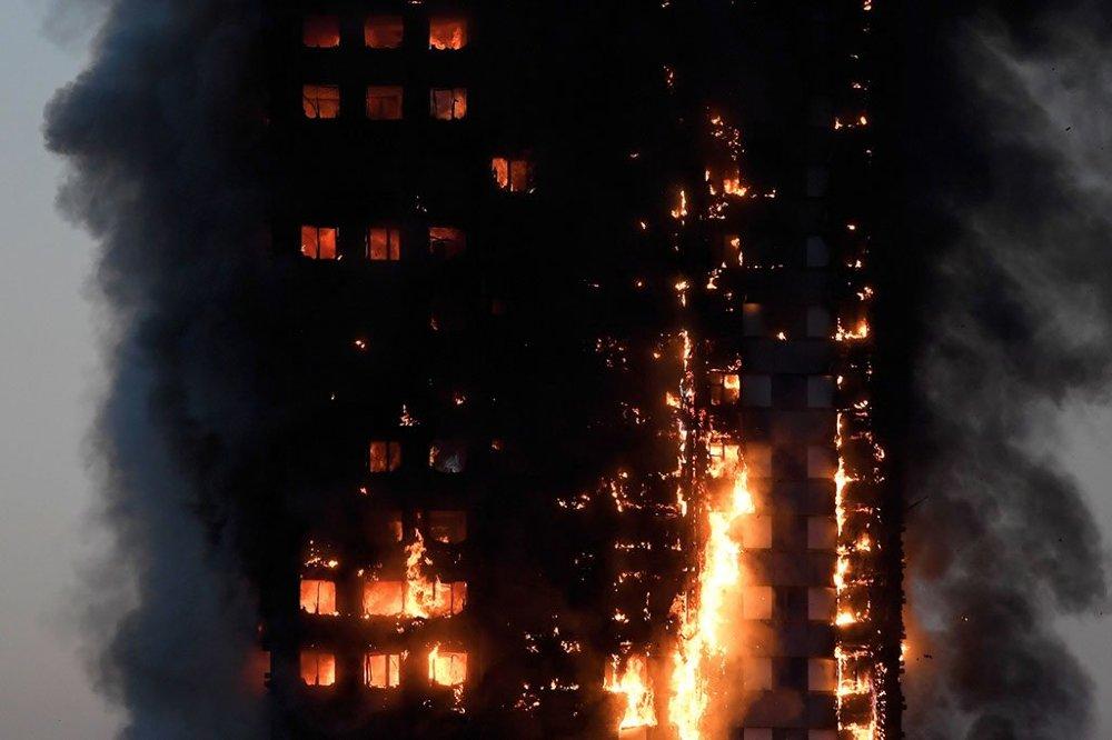 Toronyház égett Londonban