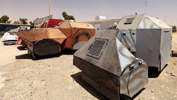 """Ilyen barkácsolt """"tankokat"""" használ az Iszlám Állam"""
