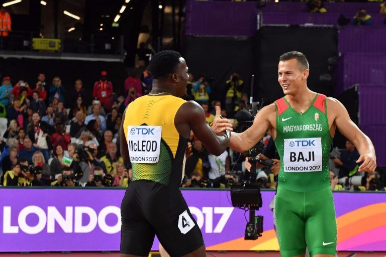 Gratulálunk! Baji Balázs dobogós az atlétikai vb-n