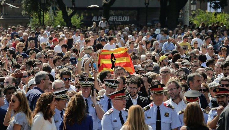 Barcelona az áldozatokra emlékezik