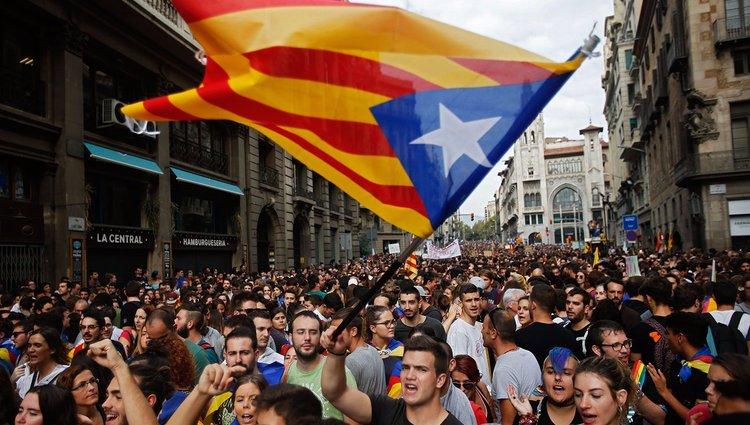 Megállt az élet Barcelonában