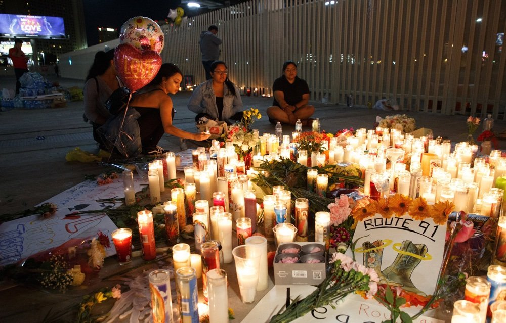 Las Vegas: Így gyászol Amerika