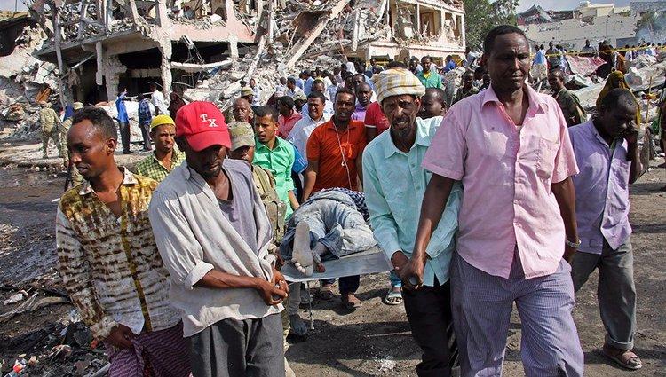 Terrortámadás Mogadishuban