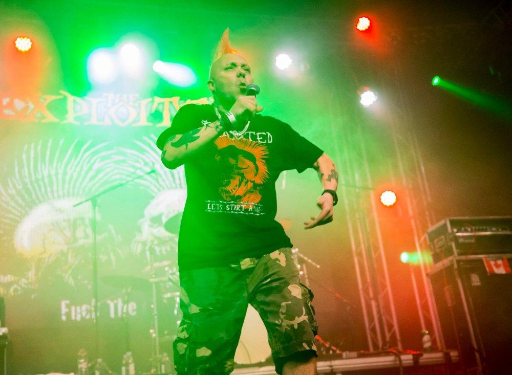 A The Exploited egy punk rock zenekar a brit punk második hullámából, 1979-ben alakult.  Oi! zenekarként kezdték, majd átalakultak gyorsabb street punk és hardcore punk zenekarrá.