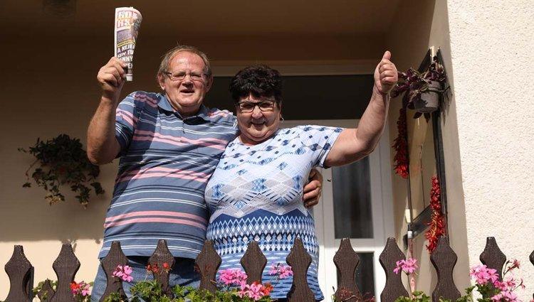 Egyed István és felesége az utolsó Borssal nyerték meg a fődíjat