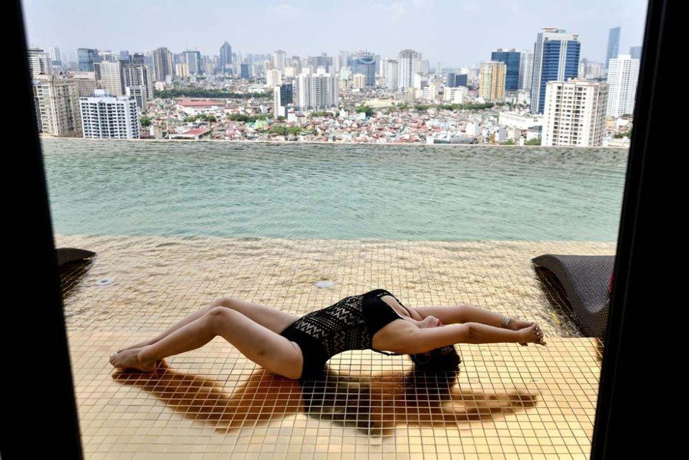 A világ első aranyozott szállodája a Dolce Hanoi Golden Lake luxushotel Hanoiban